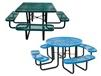 "EXPANDED METAL 46"" ROUND & SQUARE TABLES"