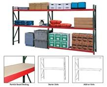 FastRak™ BULK STORAGE RACK UNITS WITH PARTICLE BOARD DECKING