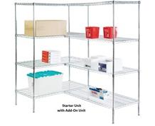 4-SHELF STATIONARY UNITS