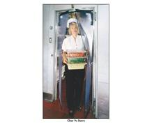 FLEXIBLE PVC CLEAR VU SWINGING DOORS